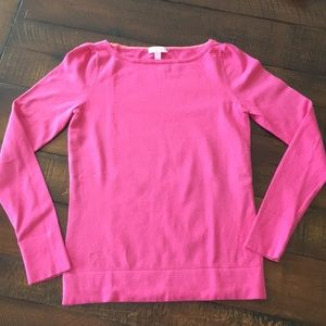 Lilly Pulitzer Pink Sweater. Size M